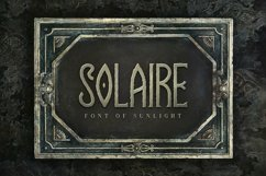 Solaire Typeface Product Image 1