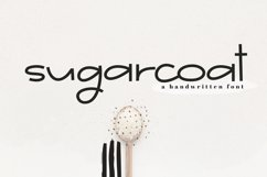 Sugarcoat - A Clean Handwritten Font Product Image 1