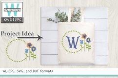Gardening SVG - Gardening Monogram Frame Product Image 1