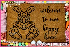 BELLA THE EASTER BUNNY SVG, MANDALA ZENTANGLE 2 DESIGNS Product Image 4