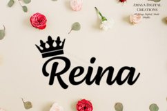Reina Svg Instant Download Product Image 2