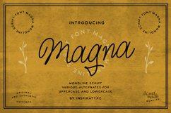 Magna - Monoline Script Font Product Image 1