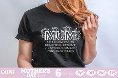Mother's Day SVG Bundle, Mom Floral SVG Bundle Product Image 3