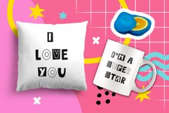 LetterGame - Kids font family Product Image 6