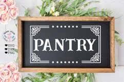 Laundry - Barn - Kitchen - Pantry Cut Files and Sublimation Product Image 5