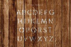 Stencil Headline Font Product Image 2