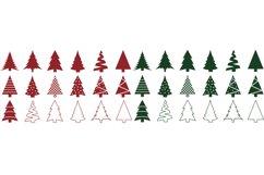 Christmas Tree SVG Bundle - Christmas Tree Clip Art Product Image 2