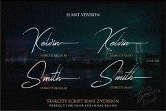 Starcity Script // Signature Font Product Image 2