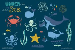 Under the Sea Vector Art EPS Product Image 2
