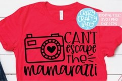Can't Escape the Mamarazzi SVG DXF EPS PNG Cut File Product Image 1