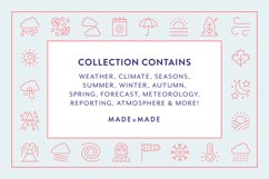 Line Icons - Weather Product Image 2