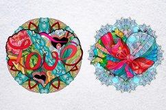 Hearts zentangle Product Image 8