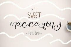 Sweet Maccarony Font Trio Product Image 1