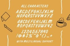 Darthon! - Fun Ballpoint Typeface Product Image 4
