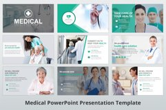 Medical and Healthcare Presentation PowerPoint Template Product Image 4