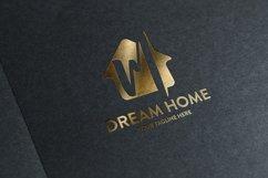 M letter house logo Product Image 3