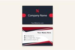 Modern Black Dark Business Card Template Product Image 2