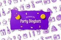 Web Font Party Dingbats Font Product Image 1