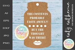 Home Made Baking Gift Tag SVG Product Image 1