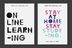 Back To School Font Product Image 5