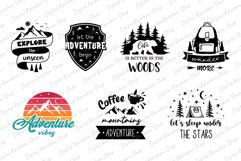 Adventure svg bundle, adventure quotes, mountain camping svg Product Image 3