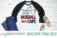 Cracker Jacks & Baseball Caps SVG, DXF, PNG, EPS Product Image 2