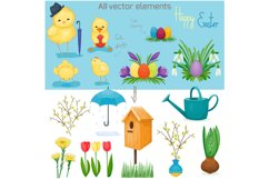 Spring vector set Product Image 4