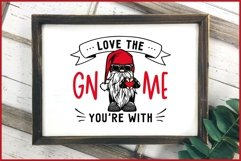 Love The GNOME You're With Valentine Gnomes SVG, Biker Gnome Product Image 4