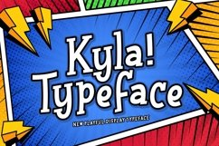 Web Font Kyla Product Image 1