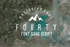 Fourty Font  Product Image 1