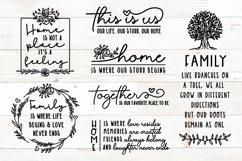 Family Sign Bundle, Family Quotes Bundle, Home Bundle svg Product Image 1