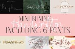 Mini Bundle Handwritten Font   Including 6 Fonts Product Image 1