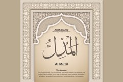 Al Muzil Meaning and Explanation Design Product Image 1