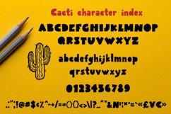 Cacti display font Product Image 5