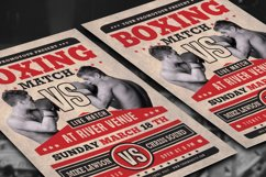 Boxing Match Flyer Product Image 3