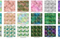 Iridescent Tropical Leaf Patterns Product Image 3