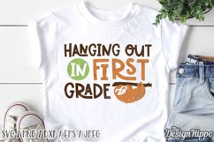 First Grade SVG, Bundle of 15 Designs, SVG DXF PNG Cut Files Product Image 5