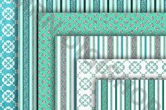 Teal Digital Paper Pack Product Image 4