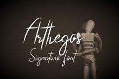 Arthegos Font Product Image 1