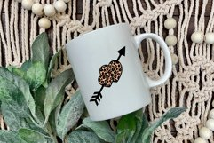Valentines SVG   Leopard Heart SVG   Cheetah Print Design Product Image 6