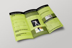 Fitness Brochure Template Product Image 4