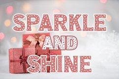Christmas Stars Font Product Image 3