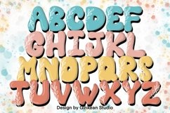 Alphabet brushes, 26 Alphabets brush stamp procreate, leaf Product Image 3