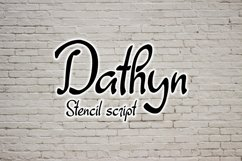 Dathyn Font Product Image 2