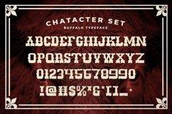 Web Font Buffalo Product Image 4