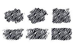 Sublimation Zebra Skin Animal Distressed Backgrounds Bundle Product Image 2