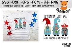 Healthcare Medical Doctor Nurse Gnomes SVG Product Image 1