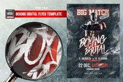 Boxing Brutal Flyer Product Image 4