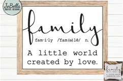 Family SVG and Printable - Farmhouse Definition Product Image 1