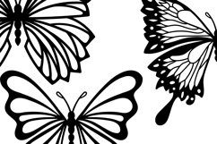 Butterflies Clip Art | Vector files Product Image 5